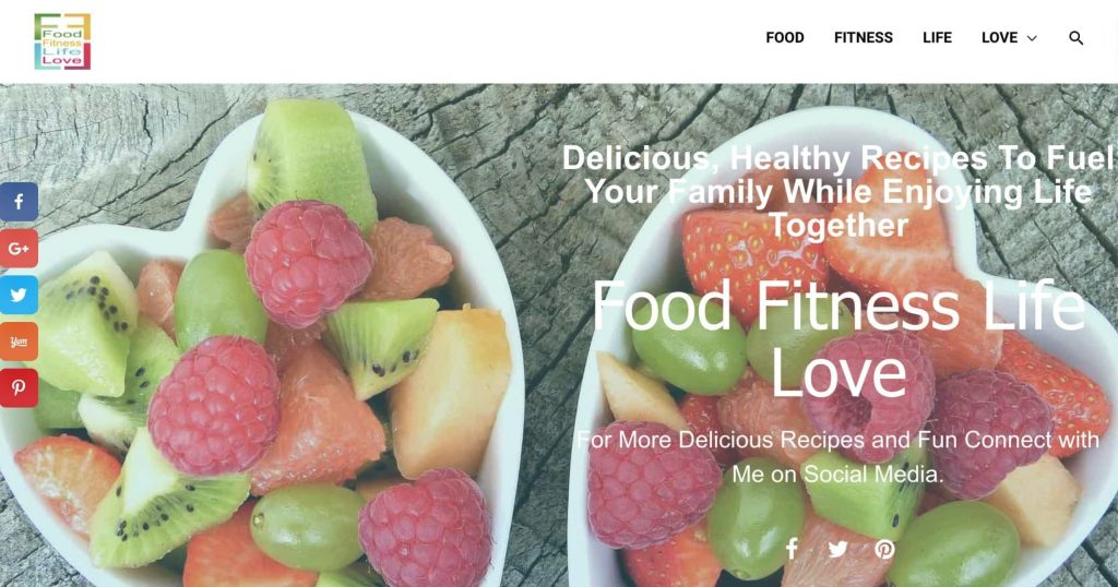 Food-Fitness-Life-Love-Home-Page