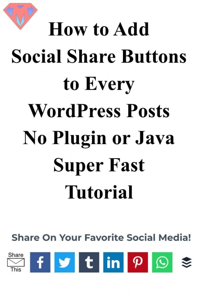 How-to-Add-Share-Buttons-to-WordPress-Posts-No-Plugin-or-Java-Pin
